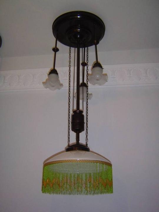 Zuglampe jugendstil antik lampen verkauf und for Lampen antik
