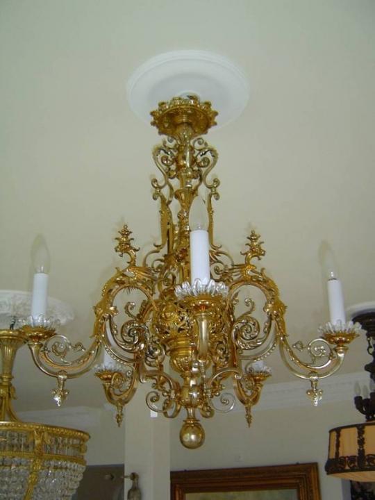 Kronleuchter antik design for Lampen antik