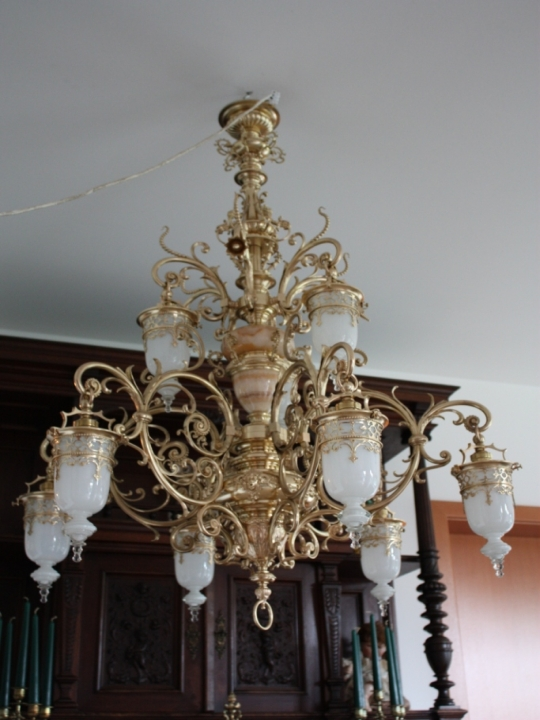Antike deckenlampe historismus um 1880 antik lampen for Lampen antik