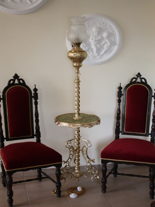 antike stehlampe salonlampe antik lampen verkauf und restauration bernd noeltge antike. Black Bedroom Furniture Sets. Home Design Ideas