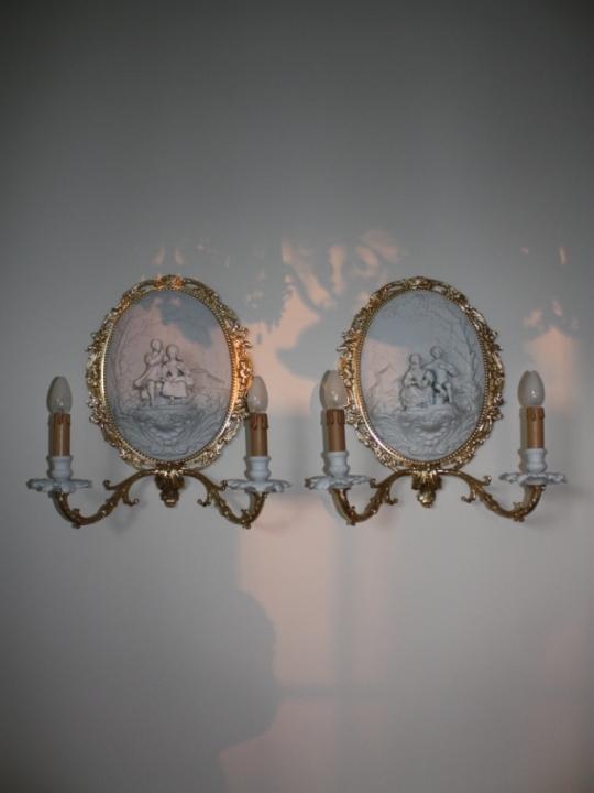 originale jugendstil wandlampen antik lampen verkauf und restauration bernd noeltge. Black Bedroom Furniture Sets. Home Design Ideas